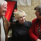 Darlene Lorenz, Michiel Conner (left) and Rita Henze joke around at the Exodus House Christmas party at St. Luke's United Methodist Church in North Tulsa on Dec. 14, 2011. Lorenz currently works at Exodus House, which helps offenders transition into life after incarceration.