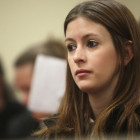 Emily Linville sits inside Judge Sarah Smith's courtroom in downtown Tulsa on Jan. 10, 2011. After two years of being clean, Linville will graduate drug court next month. Linville fought an addiction to Lortab pills and was caught and given the option of attending treatment and drug court.