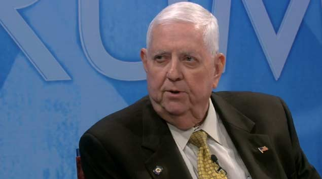 Rep. David Dank, R-Oklahoma City, talked about tax credits on a recent episode of OETA's Oklahoma Forum /// Courtesy photo.