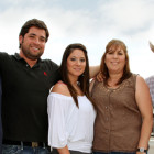 Frankie and Connie Marquez were among the first Mexican-Americans to start a family in Hennessey. From left: Eric, Randy, Betsy, Connie and Frankie.
