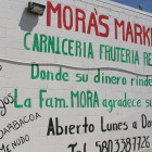 Mora's Market sells domestic and imported groceries, including Mexican candy for the kids.