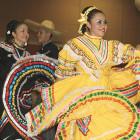 Guymon High School's Alma Folkloria dance group performs during Fiesta Day in Guymon.