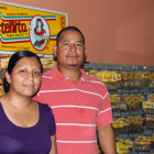 Minerva and Manuel Martinez first entered the United States in 1997, and now run a small store and restaurant in Heavener's old downtown.