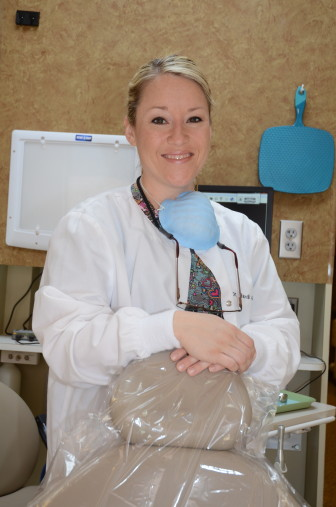 Randi Hobbs is one of 10 dentists participating in a state program that provides cash incentives for dentists to practice in underserved rural areas. She practices in Sulphur.