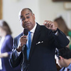 Texas state Sen. Rodney Ellis sponsored legislation to increase transparency of charity care in the state, which requires nonprofit hospitals to spent at least 4 percent of net patient revenues to charity care.