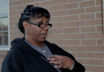 Patrice Wooden-Azebbar, of Midwest City, is a former prison nmate who has turned her life around but still battles poverty and unemployment.