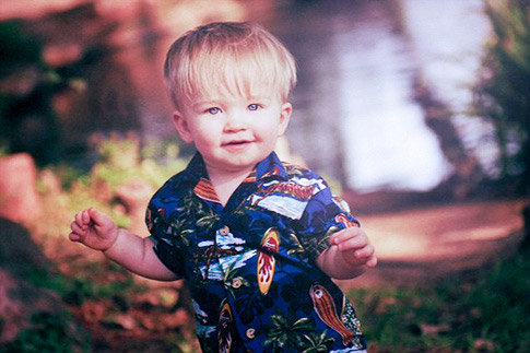 Ryder Rozier, 3, shot and killed himself in Guthrie, Okla., after he found his uncle's gun.