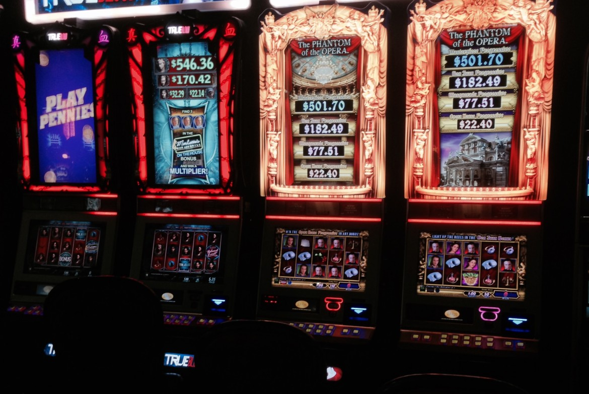 7 000 slot machines - WinStar World Casino and Resort