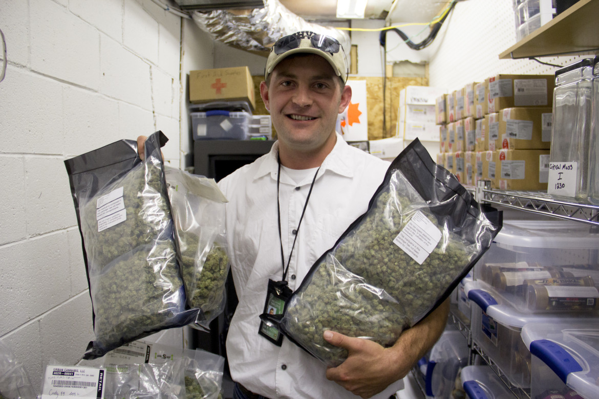 Jim Roberts is the operations manager for Kush Gardens in De Beque, Colorado. Kush Gardens is the only recreational dispensary in Mesa County, an opt-out county on the Western Slope.