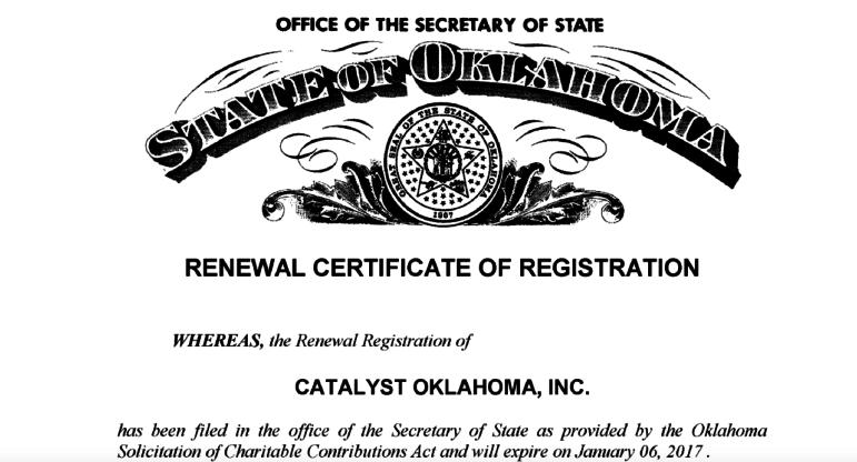Catalyst Oklahoma