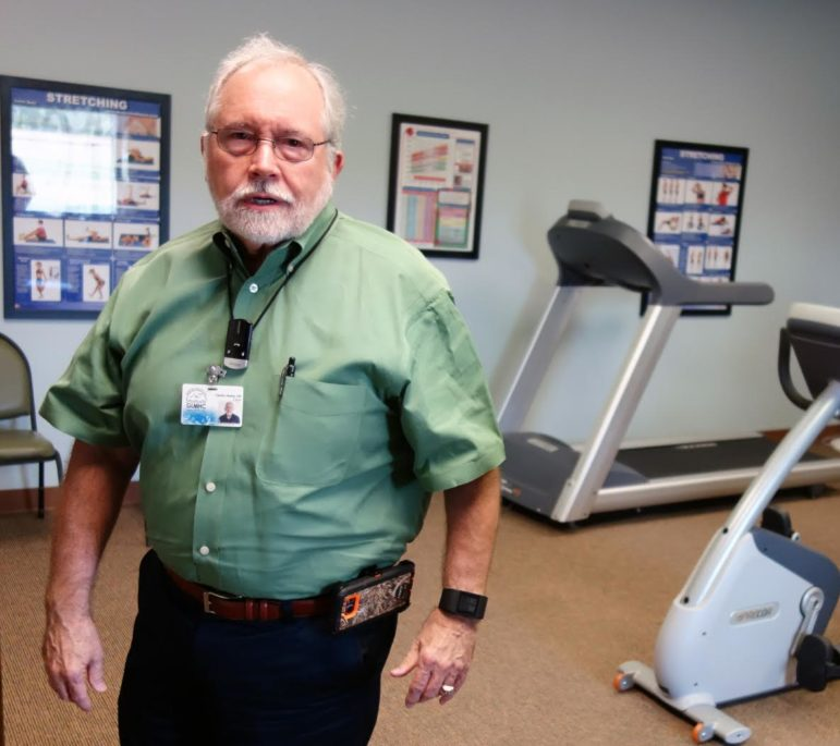 Charles Danley, Grand Lake Mental Health Center CEO, says mental health treatment providers must find creative ways to work around the issues facing the mentally ill in rural areas.