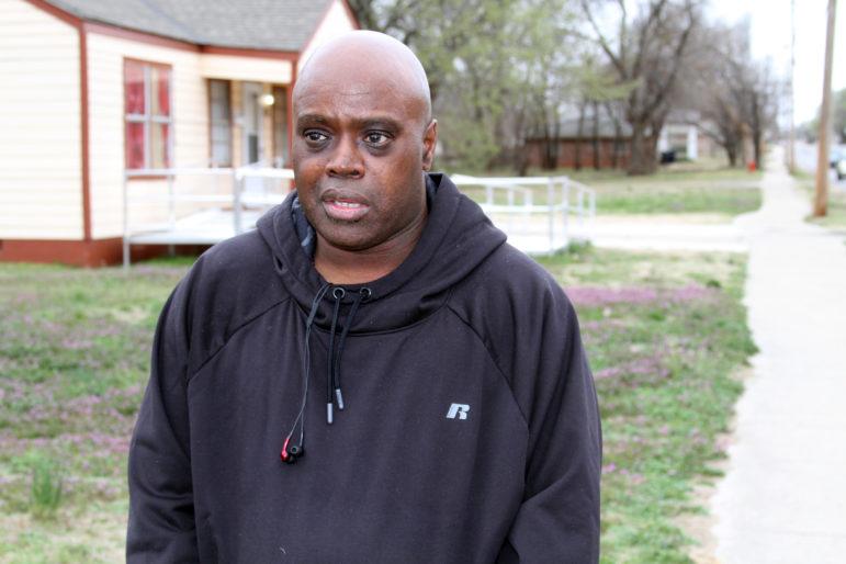 Oklahoma City resident John Whitfield describes his 2016 traffic stop.